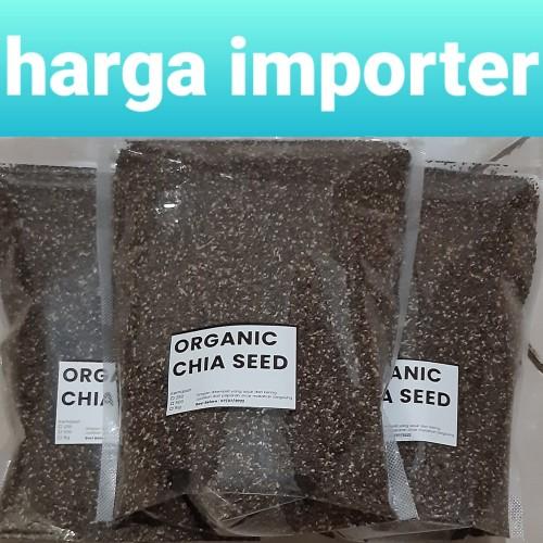 Foto Produk premium organic chia seed 1kg dari toko importer