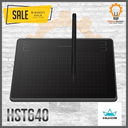 Foto Produk Huion HS64 / HST640 Graphic Drawing Pen Tablet Android PC alt H420P dari Urban Geeks