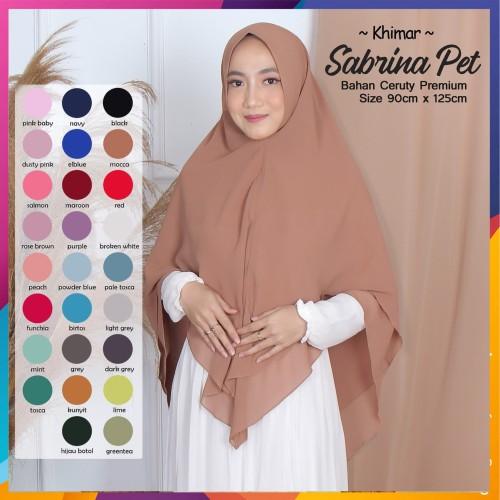 Foto Produk JILBAB KHIMAR KERUDUNG KHIMAR HIJAB KHIMAR SABRINA PET dari Yunita.Hijab