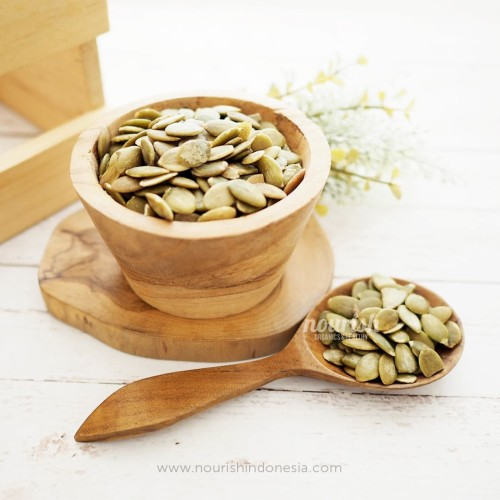 Foto Produk Roasted Pumpkin Seed 500gr dari Nourish Indonesia