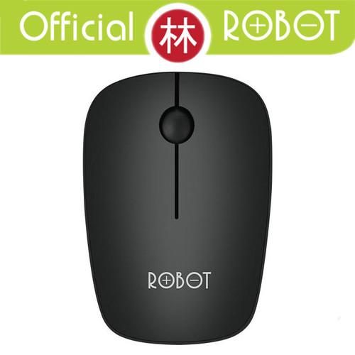 Foto Produk Robot M220 2.4G Wireless Optical Mouse Cherry Scroll Wheel - Hitam dari Liem