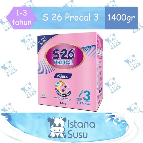 Foto Produk S26 Procal 3 1400 gr dari Istana Susu