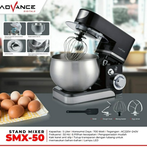 Foto Produk ADVANCE STAND MIXER SMX-50 dari ORI elektronik