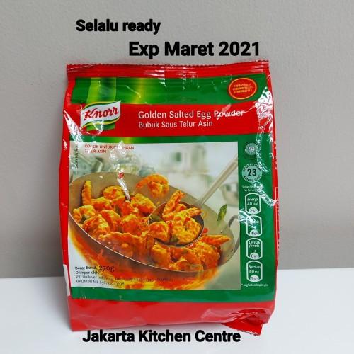 Foto Produk Knorr Golden Salted Egg powder 270 gr dari Jakarta Kitchen Centre