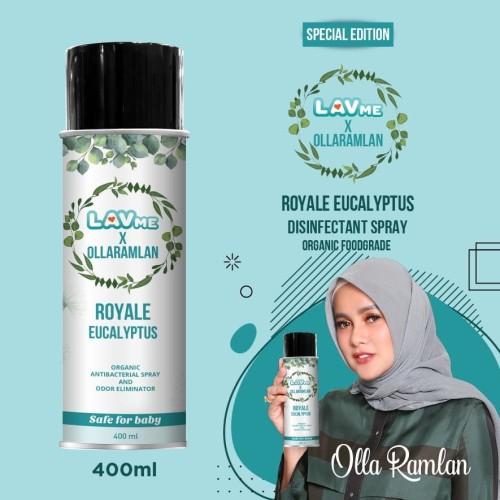 Foto Produk Lavme x Olla Ramlan Disinfectant - Royal Eucalyptus 400ml dari LAVME Official Store