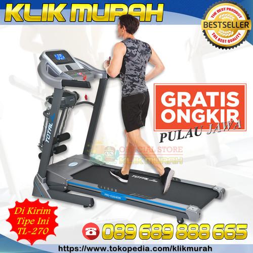 Foto Produk FIT'RUZ. Treadmill Elektrik Murah | Kualitas Premium | Treadmill TL666 dari KLIK MURAH