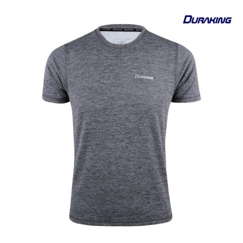 Foto Produk DK Daily Active Wear (Man) Tee Man V2 Wave Dark Grey - SLIM FIT, S dari Duraking Outdoor&Sports