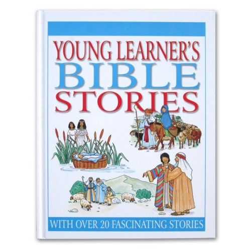 Foto Produk Young Learner's BIBLE STORIES with Over 20 Fascinating Stories dari HappyBunnyBooks