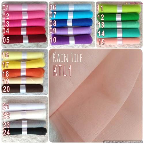Foto Produk KT Kain Tile Kaku 1mx120cm dari Toko Kain Flanel dot com