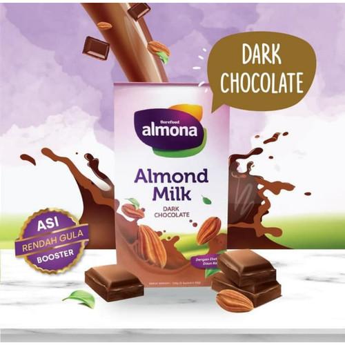 Foto Produk ALMONA Almond Milk Powder ASI BOOSTER with Daun Katuk - Dairy Free - Coklat dari Barefood