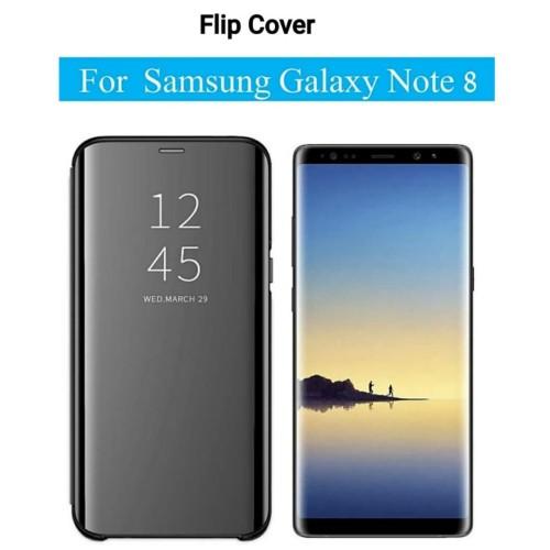 Foto Produk Flip Case Samsung Galaxy NOTE8 NOTE 8 Clear View Standing Cover dari Vinvend ACC