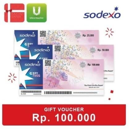Foto Produk HEMAT Paket Belanja Sodexo Rp.100.000 ( Expired 2021 ) dari Ultra Voucher