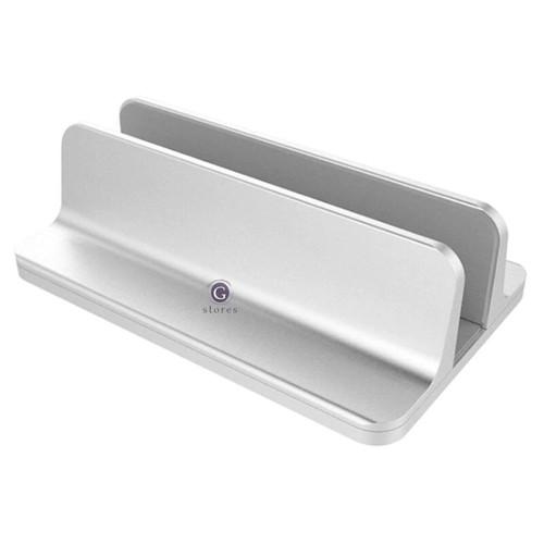 Foto Produk Stand Dudukan Bracket Holder Macbook / Laptop / Ultrabook / Buku - Silver, Single dari G Stores