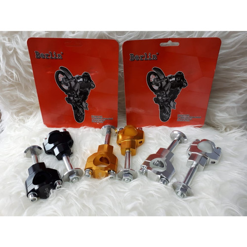 Foto Produk Raiser Peninggi Stang Baut 1 CNC Untuk KLX150 CRF 150 dari Hans motocross