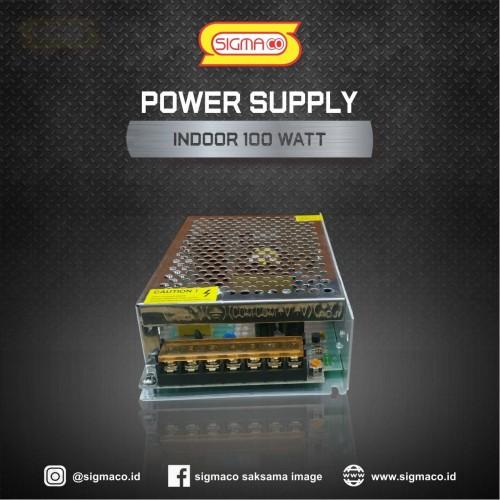 Foto Produk Power Supply Indoor 12V 100W 8.3A - Garansi 1 Tahun dari pt.sigmaco