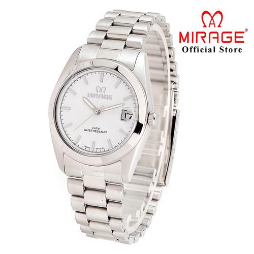 Foto Produk Jam Tangan Pria Mirage Premium Original TS195M Silver dari Mirage Watch