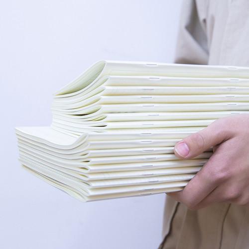 Foto Produk Simple Matte Cover Notebook A5 / Buku Tulis A5 / Buku Catatan A5 - Blank dari Pinkabulous