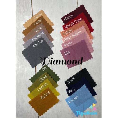 Foto Produk 0.5 Meter Kain Diamond Crepe / Diamond Georgette dari Nacy Tex