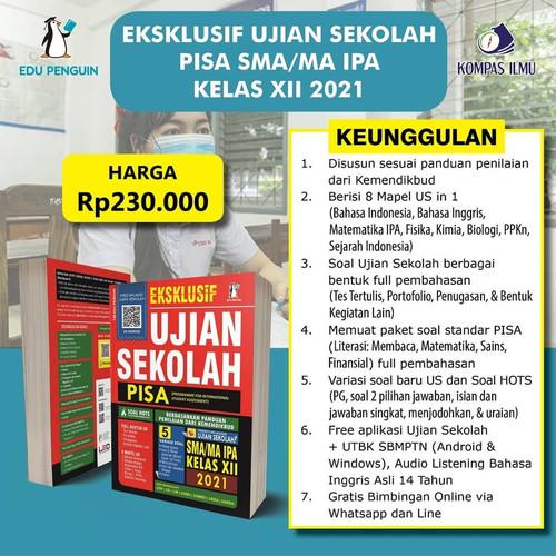 Jual Buku Eksklusif Ujian Sekolah Pisa Sma Ma Kelas Xii Ipa Ips Ipa 2021 Kota Tangerang Opid Merchandise Tokopedia