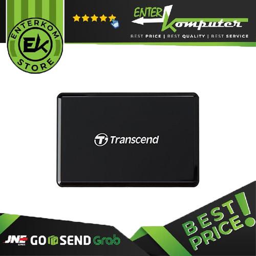 Foto Produk Transcend Card Reader RDF-9 Black USB 3.1 dari Enter Komputer Official