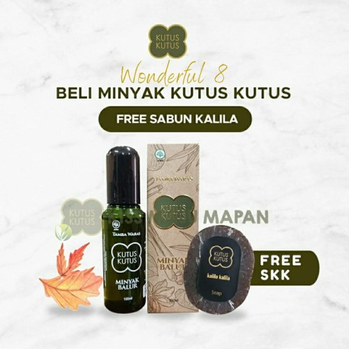 Foto Produk Promo! Minyak kutus kutus free sabun kalila kalila dari Balihealingoil78