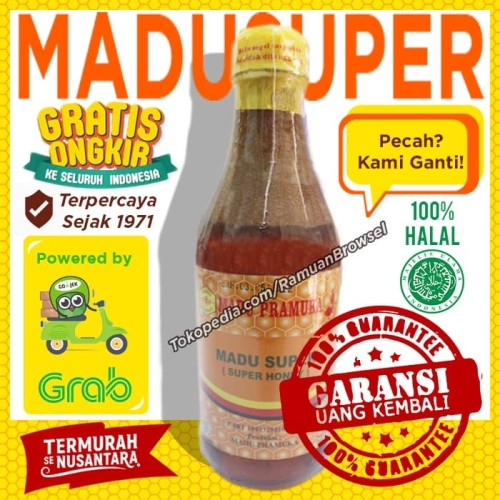 Jual Madu Pramuka Alami Super 350ml Madu Pollen Royal Jelly Jakarta Timur Ramuan Browsel Tokopedia
