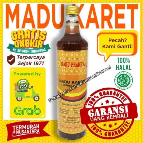 Jual Madu Pramuka Alami Madu Karet 650ml Jakarta Timur Ramuan Browsel Tokopedia