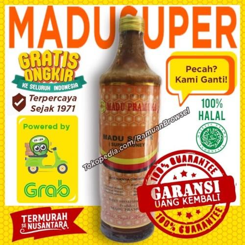 Jual Madu Pramuka Alami Super 650ml Madu Pollen Royal Jelly Jakarta Timur Ramuan Browsel Tokopedia