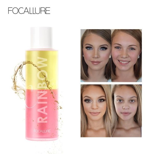 FOCALLURE makeup remover Rainbow cocktail cleansing oil (100ML) FA98 1