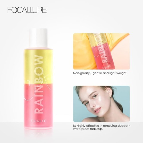 FOCALLURE makeup remover Rainbow cocktail cleansing oil (100ML) FA98 4