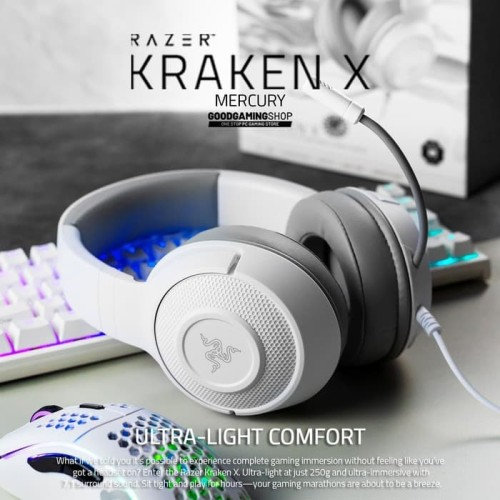 Foto Produk Razer Kraken X Mercury - Gaming Headset dari Goodgamingshop