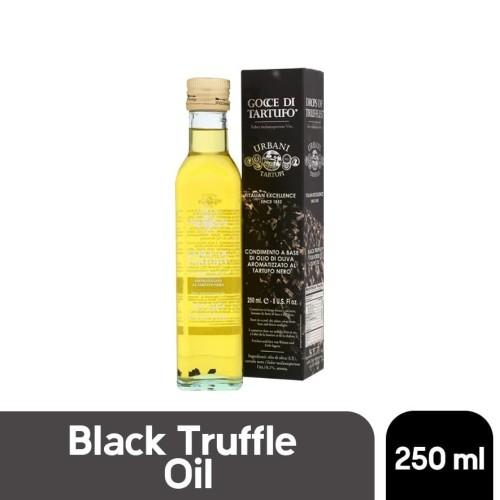 Foto Produk Urbani Black truffle oil minyak zaitun dengan truffle premium 250 ml dari Premium Food Importer