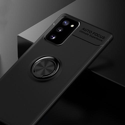 Foto Produk Casing Autofocus Ring Magnetic Case Samsung Galaxy Note 20 - Hitam dari Maserik Shop
