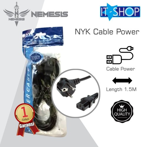 Foto Produk NYK Cable Power 1.5M dari IT-SHOP-ONLINE