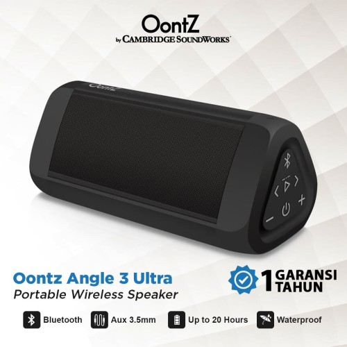 Foto Produk Oontz Angle 3 Ultra Portable Wireless Bluetooth Speaker dari Oontz Official Store