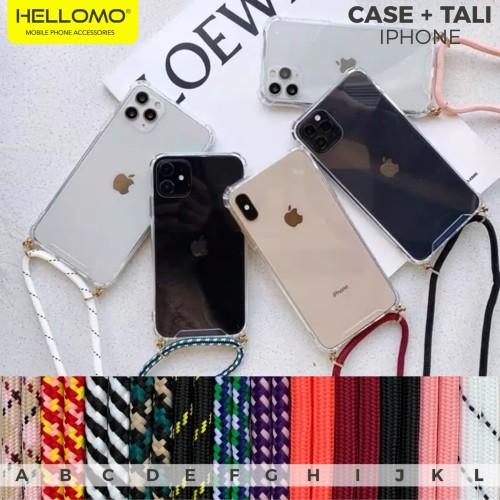 Foto Produk Sling Case iPhone Casing Gantungan Lanyard Tali Case Hp Gigi iPhone - TALI KODE I dari hellomo