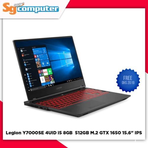 Foto Produk Lenovo Legion Y7000SE 4UID i5-9300HF 8GB 512GB GTX 1650 15.6 Win 10 dari SG Computer Jogja