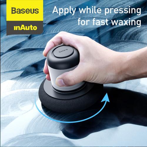 Foto Produk BASEUS CAR WAX LAZY WAXING MACHINE PERAWATAN MOBIL CUCI MOBIL - Hitam - Hitam dari Baseus Auto Life