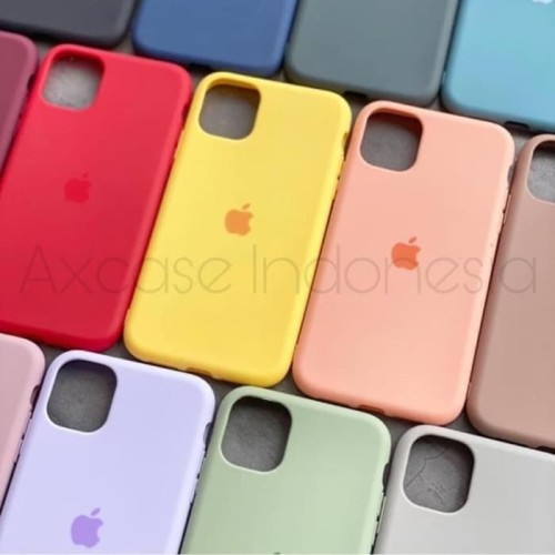 Foto Produk PREMIUM SILICONE CASE IPHONE 11, 11 PRO, 11 PRO MAX SOFTCASE POLOS - iPhone 11, Yellow dari Axcase Indonesia