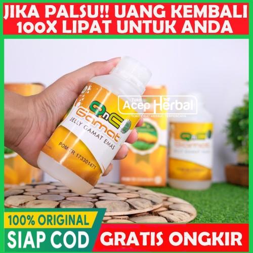 Foto Produk Qnc Jelly Gamat 100% Dijamin Original Bisa COD | Bukan Gold G - Luxor dari Ade Herball