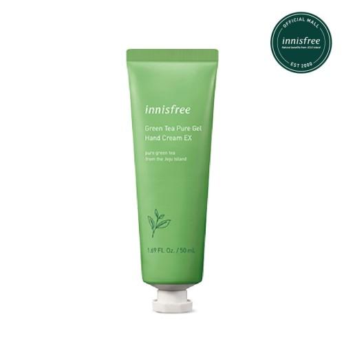 Foto Produk [innisfree] Green Tea Pure Gel Hand Cream EX 50ML dari Innisfree Official Shop