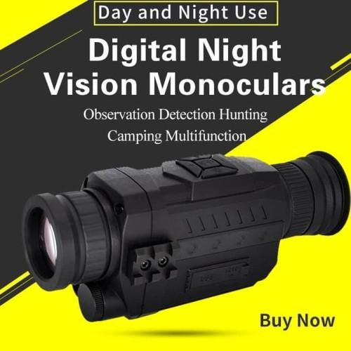 Foto Produk NIGHT VISION DIGITAL 1-5 Zoom MONOCULAR TEROPONG MALAM MONOKULAR dari DO OFFICIAL STORE