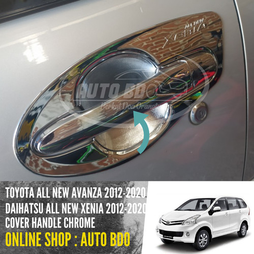 Foto Produk Cover Handle Chrome Great New Xenia 2016 Up To dari Auto BDO Berkat Doa Ortu
