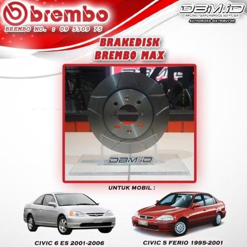 Jual Brembo Max Honda Civic 5 Ferio 95 01 Civic 6 Es 01 06 Disc Brake Kota Surabaya Dbm Tokopedia