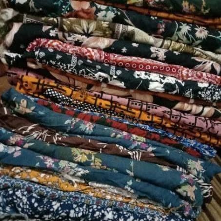 Jual Terlaris Sale Kain Katun Kiloan Kain Rayon Kiloan Katun Kiloan Jakarta Barat Inda Fashion Tokopedia