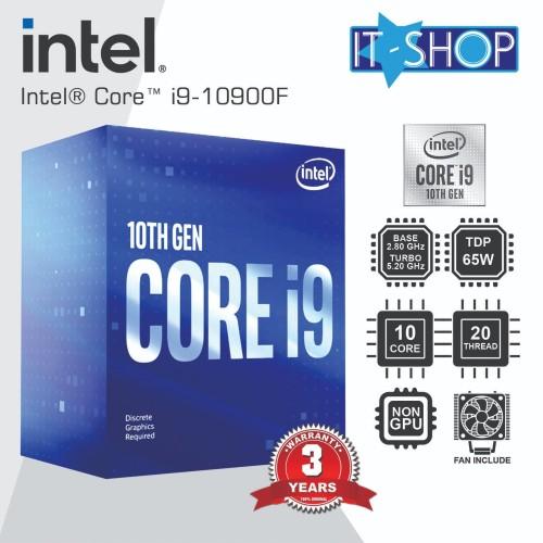 Foto Produk Intel Processor Core i9 10900F - LGA1200 dari IT-SHOP-ONLINE