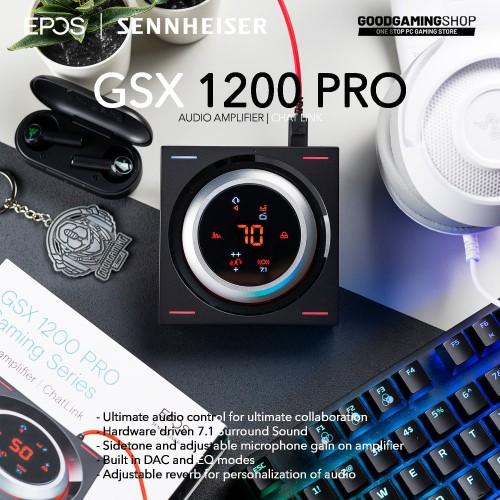 Foto Produk Epos GSX 1200 Pro - Audio Amplifier dari GOODGAMINGM2M