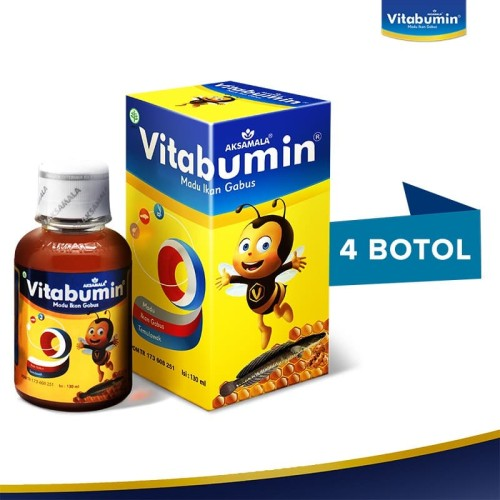 Foto Produk Vitabumin 130ml - 4 Pcs dari Official Vitabumin