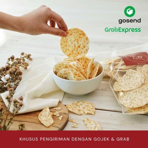 Foto Produk Keripik Tempe Homemade Chips Oleh Oleh Jakarta 250gr - Original dari Tempehead