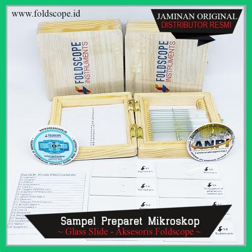 Foto Produk Foldscope Prepared Slide Box Set - Mikroba dan Makroinvertebrata - Dugesia japonic dari foldscope Id